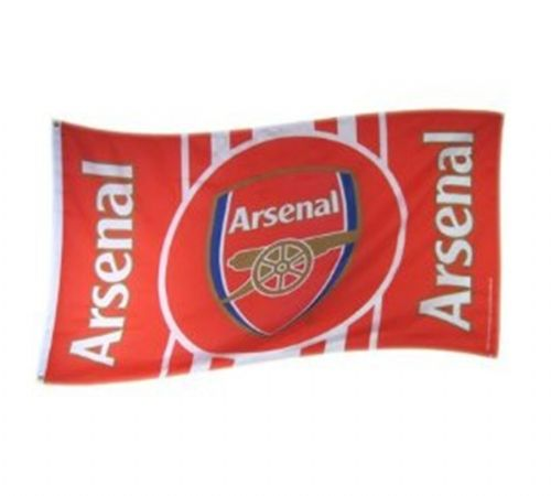 ARSENAL GUNNERS FOOTBALL CLUB FLAG LARGE OFFICIAL 5 X 3